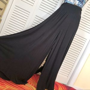 EARTHBOUND Palazzo Wide Leg Belly Dance Pants S